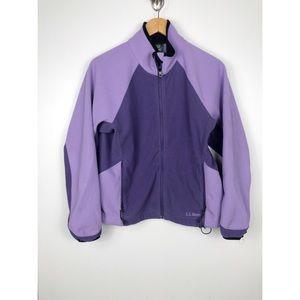 Vintage Purple LL Bean Jacket Size Large